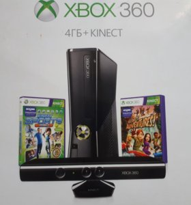X-box 360 с кинектом