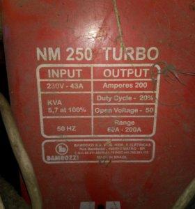 Сварочный аппарат Bambozzi NM 250 Turbo