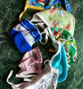 пакет шапочки,носчки и пинетки