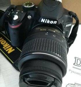 Nikon D3200,одна хозяйка