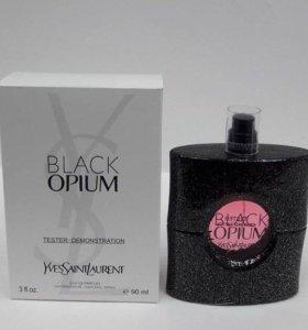 🌹Женский парфюм BLACK OPIUM в тестере