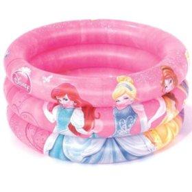 Надувной бассейн «Принцессы».
