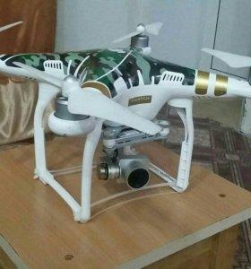 Квадрокоптер phantom 3 professional.