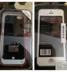 Чехол-зарядка на IPhone 6s