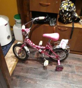 Велосипед детский с держателем