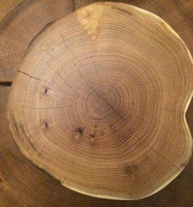 Спил подставка деревянная