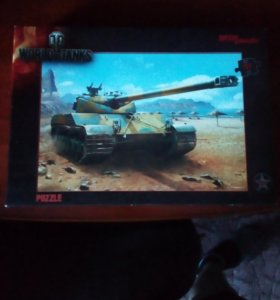 Пазлы WORLD of TANKS