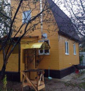 Строительство каркасных и домов из бруса