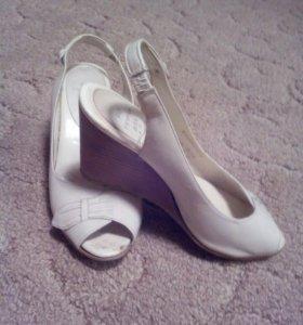 Летние туфли,нат.кожа