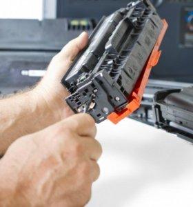 Заправка и ремонт лазерных и струйных принтеров