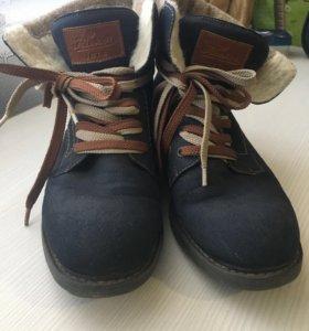 ботинки зимние(демисезон) 39 размер