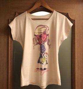 Новая майка футболка женская