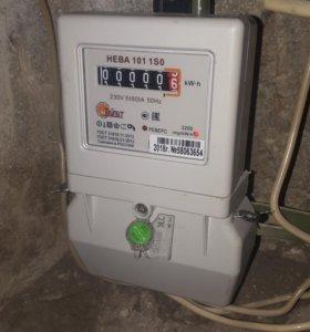 Электрик, замена электросчетчика