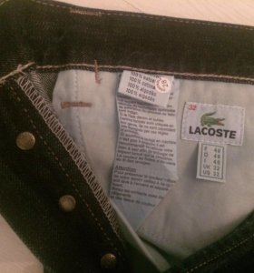 Джинсы мужские Lacoste 46-й размер