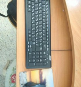 Клавиатура(acer) и мышь(sven)