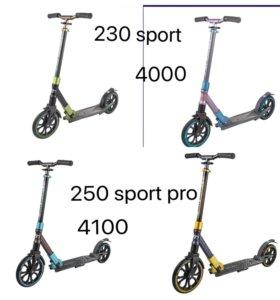 Самокаты tech team 250 sport pro. Возможен торг
