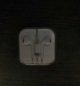 Наушники Apple EarPods от iPhone 7 Оригинал