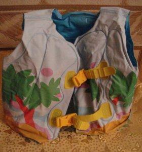 Новый надувной жилет(3-6 лет).