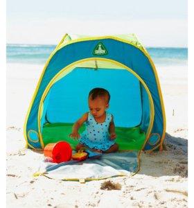 Тент пляжный солнцезащитный.