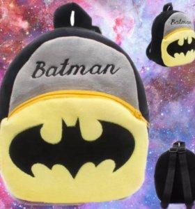 Детский плюшевый рюкзак Бэтмен