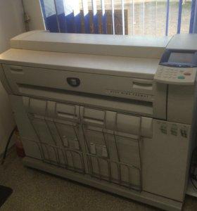 Широкоформатный сканер и принтер Xerox 6204