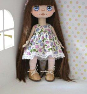 Интерьерная кукла ручной работы!