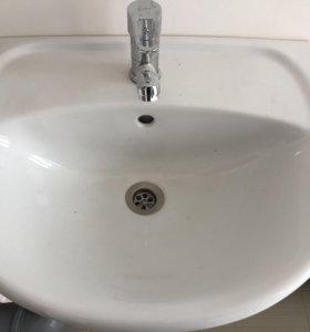 Новая раковина в ванну