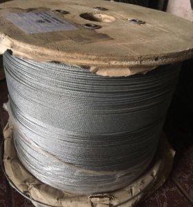 Трос стальной оцинкованный 2.5 мм