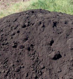 Плодородная земля, чернозём для дачи