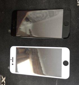 Защитное стекло на айфон 6,7,8