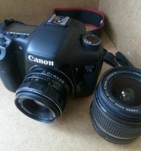 Canon 7d объективы
