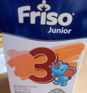 Молочная смесь Friso от 1 до 3
