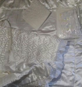 Комплект на выписку + одеялко