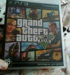 Диск для PS3 gta 5