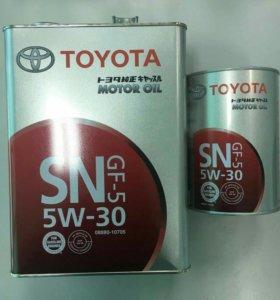 Масло моторное Toyota 5w30 4л