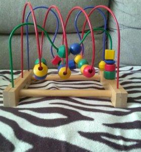 Детская развивающая игрушка лабиринт
