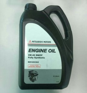 Моторное масло мицубиси синтетика 5w40