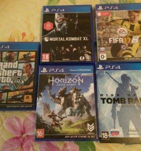 Игры PS4 обмен