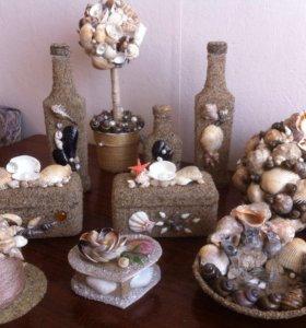 Морские сувениры ручной работы