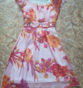 Летнее платье, 42-46 р