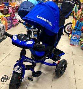 Велосипед-коляска Lexus Trike 12/10 надувные колес