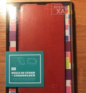 Чехол книжка для Sony Xperia XA