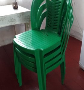 Дачный стулья 4 штуки