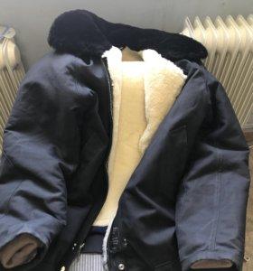 Куртка авиационно - техническая меховая, мало б/у