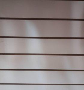Белые эконом панели