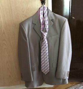 Костюм 2ка + рубашка+ галстук