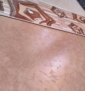 Кафель 20х40 см 60 м.кв. коллекция +фриз