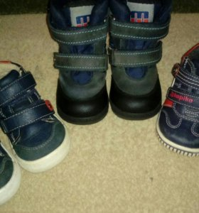 Ботиночки - сапожки для мальчика