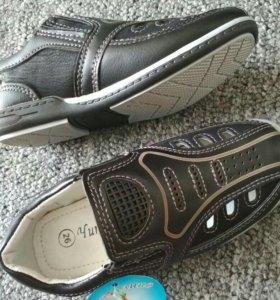Туфли новые (для мальчика)