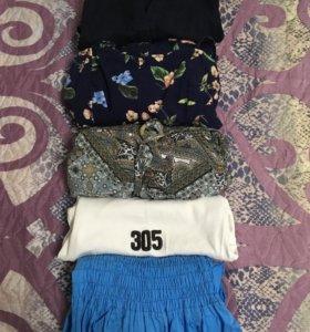 Женские вещи 40-42,пакетом